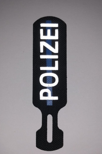 "TACPULL®  - ""Polizei"" + Thin Blue Line"