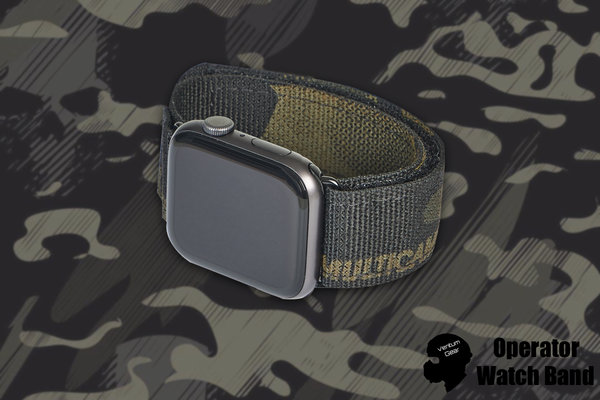 Operator watch band - Multicam Black